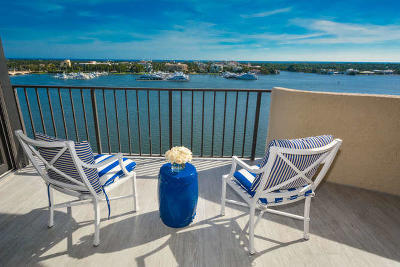 West Palm Beach Condo For Sale: 1200 S Flagler Drive #1201