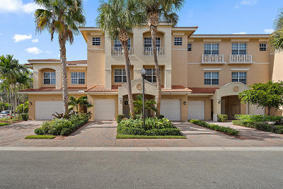 Palm Beach Gardens Townhouse For Sale: 4803 Sawgrass Breeze Drive