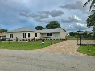 Delray Beach Single Family Home Contingent: 530 Southridge Road