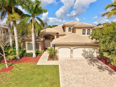 Boynton Beach Single Family Home For Sale: 11048 Brandywine Lake Way