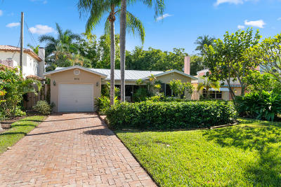 Lake Worth Single Family Home For Sale: 606 S Palmway