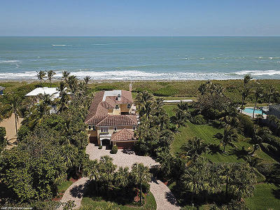 Hobe Sound Single Family Home For Sale: 53 Beach Road