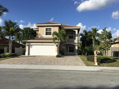 Lake Worth Single Family Home Contingent: 1752 22nd Avenue
