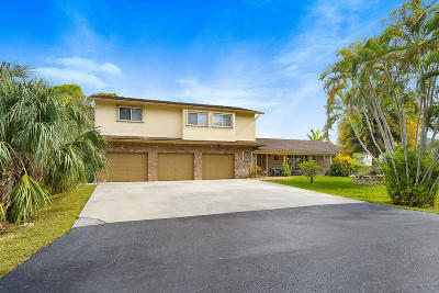 Pompano Beach Single Family Home For Sale: 7430 Lyons Road