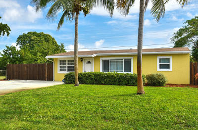 Pompano Beach Single Family Home For Sale: 3140 NE 12th Avenue