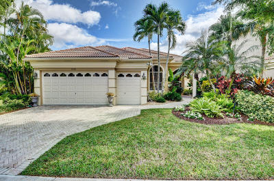 Delray Beach Single Family Home For Sale: 16106 Via Monteverde