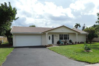 Coral Springs Single Family Home For Sale: 4241 NW 103rd Drive