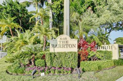 Barrton, Barrton Apts Inc Condo Condo For Sale: 555 SE 6th Avenue #7c