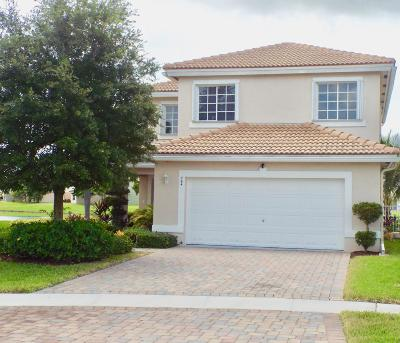 West Palm Beach Single Family Home For Sale: 764 Perdido Heights Drive