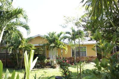 Stuart Single Family Home For Sale: 5187 SE Driftwood Avenue