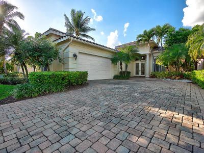 Delray Beach Single Family Home For Sale: 7733 Montecito Place
