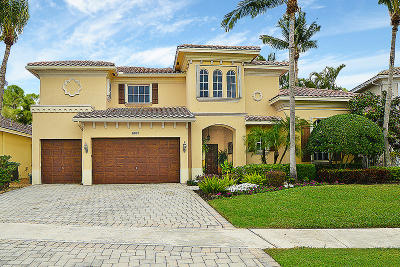 Broward County, Palm Beach County Single Family Home For Sale: 6021 Via Venetia