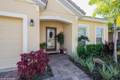 Port Saint Lucie Single Family Home For Sale: 11551 SW Rowena Street