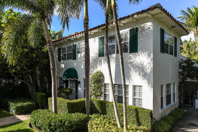 Palm Beach Single Family Home For Sale: 411 Brazilian Avenue