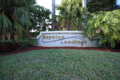 Boynton Beach Condo For Sale: 2307 Congress Avenue #27