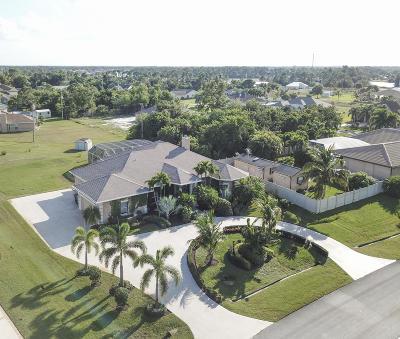 Port Saint Lucie Single Family Home For Sale: 167 SW Hawthorne Circle