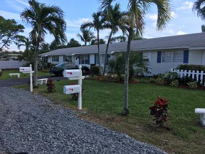 Juno Beach Multi Family Home For Sale: 1850 Wheeler Road