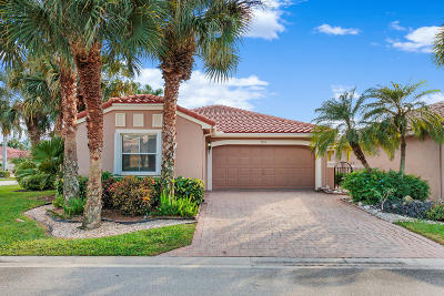 Boynton Beach Single Family Home For Sale: 7234 Whitfield Avenue