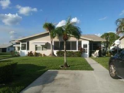West Palm Beach Single Family Home For Sale: 5343 Mariesa Avenue