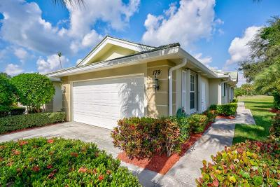 Jupiter Single Family Home For Sale: 179 Brier Circle