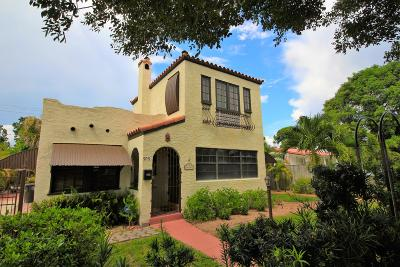 West Palm Beach Single Family Home For Sale: 909 Andrews Road