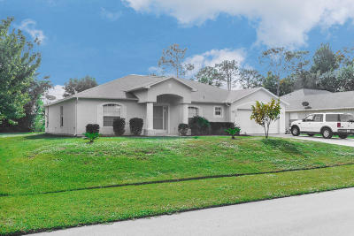 St Lucie County Single Family Home For Sale: 1770 SW Bellevue Avenue