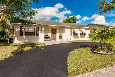 Margate Single Family Home For Sale: 6721 NW 24th Court
