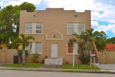 West Palm Beach Multi Family Home For Sale: 514 El Vedado
