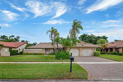 Boca Raton Single Family Home For Sale: 19740 Sedgefield Terrace
