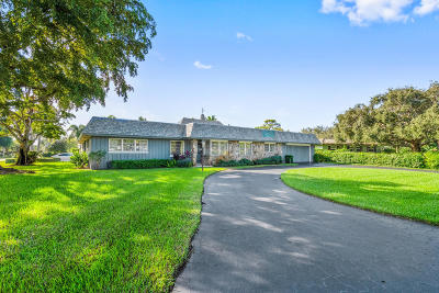 Boynton Beach Single Family Home Contingent: 506 Whispering Pines Road