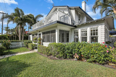 West Palm Beach Single Family Home For Sale: 3901 Washington Road
