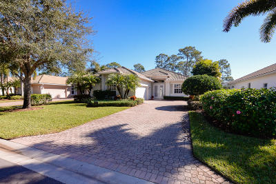 St Lucie County Single Family Home For Sale: 8438 Belfry Place
