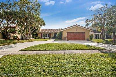 Boca Raton Single Family Home For Sale: 5800 Wind Drift Lane