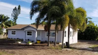west palm Single Family Home For Sale: 3880 Home Street