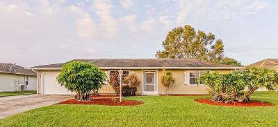 St Lucie County Single Family Home For Sale: 625 SW Carter Avenue