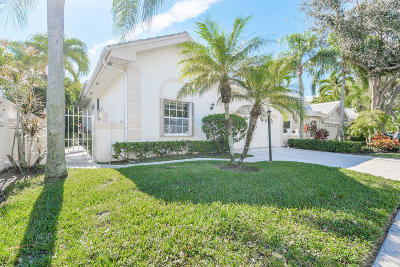 Palm Beach Gardens Single Family Home For Sale: 242 Canterbury Circle