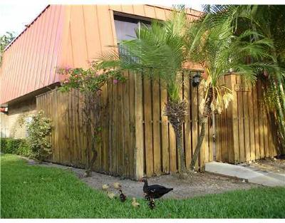 Palm Beach Gardens Townhouse For Sale: 3321 S Meridian Way #A