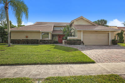 Boca Raton Single Family Home For Sale: 5782 Wind Drift Lane