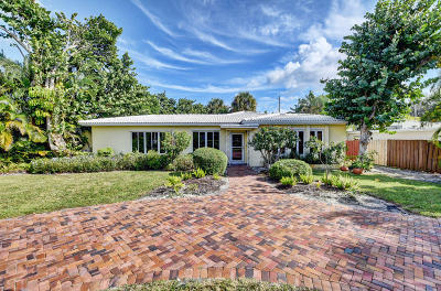 Delray Beach Single Family Home For Sale: 1907 Swinton Avenue