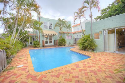 west palm Single Family Home For Sale: 835 30th Court