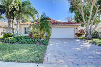 Boynton Beach Single Family Home For Sale: 9078 Padova Drive