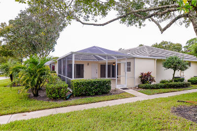 St Lucie County Single Family Home For Sale: 1242 NW Sun Terrace Circle #12