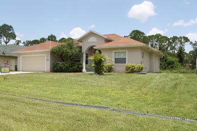 Port Saint Lucie FL Single Family Home For Sale: $275,000