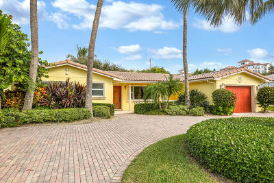 Palm Beach Shores Single Family Home For Sale: 129 Linda Lane