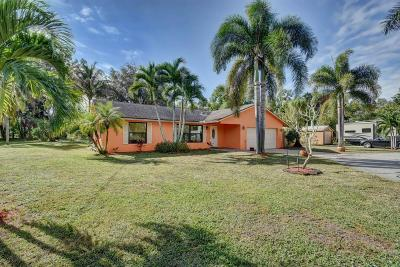 West Palm Beach Single Family Home For Sale: 11448 56th Place