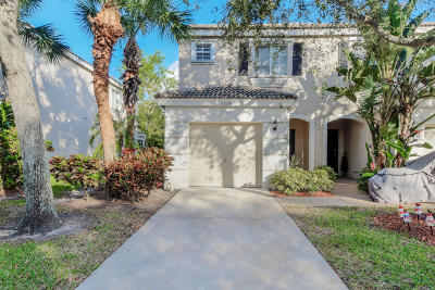 West Palm Beach Townhouse For Sale: 4858 Palmbrooke Circle
