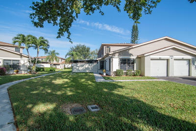 West Palm Beach Townhouse For Sale: 4411 Willow Pond Road #C