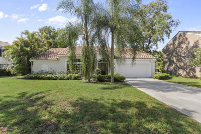 Palm Beach Gardens Single Family Home For Sale: 10223 Hunt Club Lane
