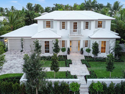 Palm Beach Single Family Home For Sale: 266 Fairview Road