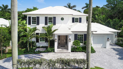 Palm Beach Single Family Home For Sale: 201 Sanford Avenue